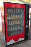 用机器制造自动贩卖机 库存图片