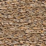 布朗板岩石头表面无缝的纹理。 皇族释放例证