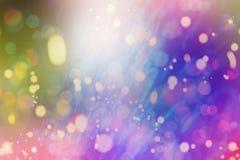 用桃红色紫色丁香不同的树荫的被弄脏的背景与聚焦的 免版税库存图片