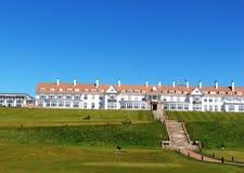 用王牌取胜Turnberry高尔夫球和温泉渡假胜地,苏格兰 库存照片