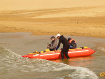 用筏子运送假期的有效的系列 免版税库存照片