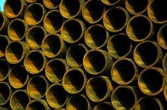 用管道输送钢 免版税库存图片