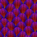 用羽毛装饰与作为异乎寻常的鸟全身羽毛样式线型弯曲的被称呼的背景 皇族释放例证