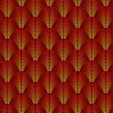 用羽毛装饰与如异乎寻常被称呼的弯曲的线的被称呼的背景 向量例证