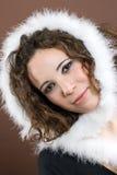 用羽毛装饰蓬松白色 免版税库存图片