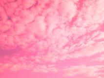 用背景和明信片的梯度做的五颜六色的云彩 Ab 免版税库存图片