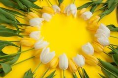 用花做的圈子 图库摄影