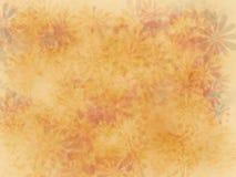 用花装饰的墙纸 免版税库存照片