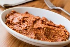 用西红柿酱或者acika做的Muhammere、acuka 库存照片