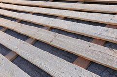 用车床加工屋顶系统 图库摄影