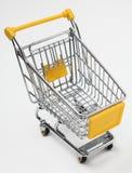用车运送空的购物 免版税图库摄影