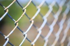 用钢绳滤网做 免版税图库摄影