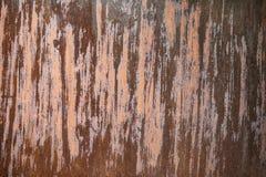 用铁锈和腐蚀报道的金属表面 库存图片