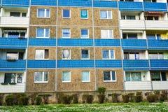 用预制混凝土平板做的大厦 免版税库存图片