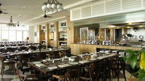 用餐东部旅馆东方人sarkies的区 免版税库存图片