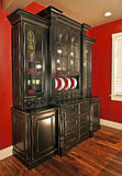 用餐储藏箱空间的自助餐 库存照片
