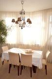 用餐内部空间 免版税图库摄影
