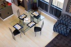 用餐厨房空间 图库摄影