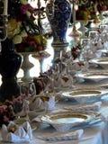 用餐在城堡 免版税图库摄影