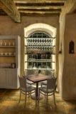 用餐在意大利 免版税库存照片