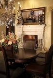 用餐家庭新的空间 库存图片