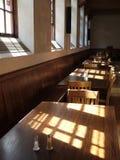 用餐晴朗旅馆老的空间 库存图片