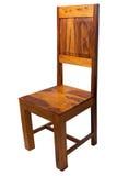用餐柚木树的椅子 库存图片