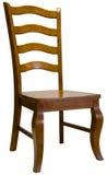 用餐槭树空间的椅子 免版税库存图片