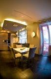用餐现代空间 免版税图库摄影