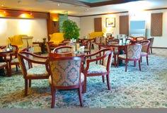 用餐细致的旅馆 免版税库存照片