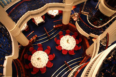 用餐豪华空间船的巡航 免版税图库摄影