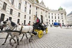 用马拉的支架在维也纳 库存图片