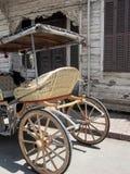 用马拉的敞蓬旅游车, Buyukada,土耳其的Island王子 图库摄影