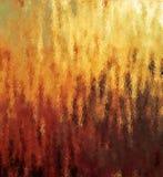 用黄色,红色和布朗颜色背景不同的树荫的数字式绘画摘要土气火焰  免版税图库摄影