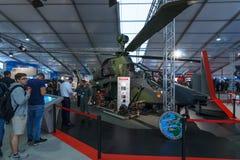 攻击用直升机欧洲直升机公司老虎 库存照片