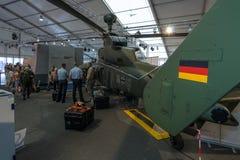 攻击用直升机欧洲直升机公司老虎 图库摄影
