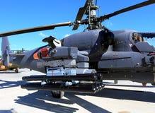 攻击用直升机的空中军备 库存图片