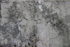 用水泥涂有镇压和老油漆纹理的墙壁 库存图片