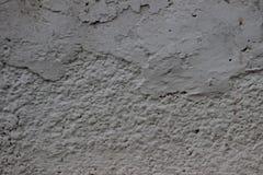用水泥涂有镇压和老油漆纹理的墙壁 库存照片