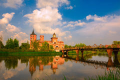 巴甫洛夫城堡 免版税库存图片