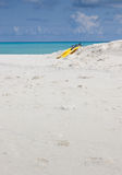 田园诗海滩印度洋 免版税库存照片