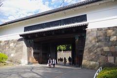 田安星期一在Kitanomaru公园,千代田,东京,日本 图库摄影