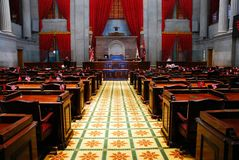 田纳西州议会 库存图片