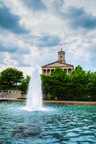 田纳西状态国会大厦大厦在纳稀威 库存照片