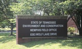 田纳西环境和保护办公室 免版税库存图片