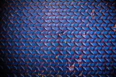 由与铁锈的钢纹理做的地板 库存图片