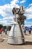 由公司的太空火箭引擎NK-33 免版税库存图片