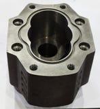 由加工m的高精确度cnc抽熔铸的部分制造业 库存照片