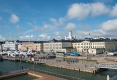 由市场的游泳池在赫尔辛基 免版税图库摄影