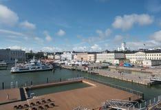 由市场的游泳池在赫尔辛基 免版税库存照片